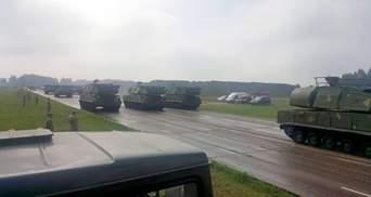 Сухопутні війська ЗСУ показали техніку, яка буде на параді у День Незалежності