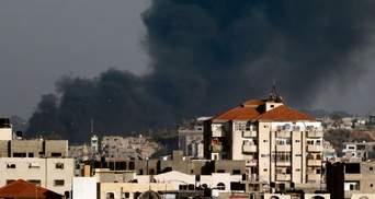 Израиль начал мощные обстрелы позиций ХАМАС в секторе Газа
