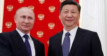 В ПАР проходить зустріч Путіна з головою КНР Сі Цзіньпіном