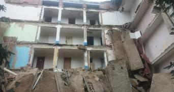 В Житомирской области обвалилось студенческое общежитие: шокирующие фото