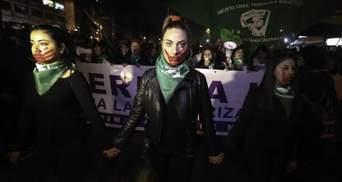 Кровавый протест в Чили: на участников марша за легализацию абортов напали с ножами