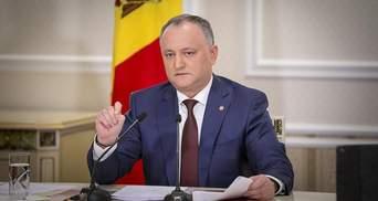 Президент Молдовы выступает против вывода российских миротворцев из Приднестровья