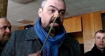 В Бердянске убили известного активиста Виталия Олешко: видео 18+