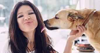 Руслана показала очаровательные фото с домашним любимцем
