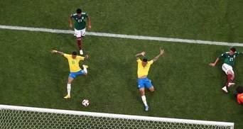 Бразилія обіграла Мексику та вийшла в чвертьфінал Чемпіонату світу