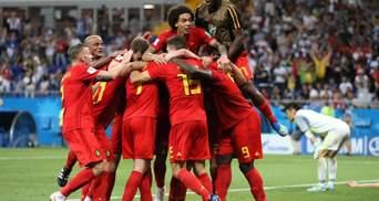 Бельгія перемогла Японію у напруженому матчі і вийшла в чвертьфінал