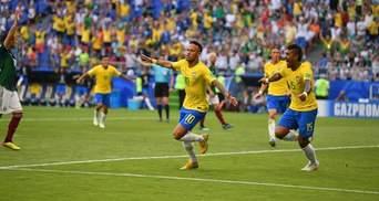 Бразилія – Мексика: відео голів та моментів матчу Чемпіонату світу