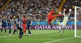 Бельгія – Японія: відео голів та моментів матчу Чемпіонату світу