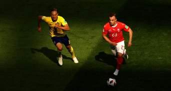Швеція мінімально перемогла Швейцарію на Чемпіонаті світу та вийшла у чвертьфінал