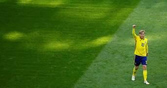 Швеція – Швейцарія: відео голу та моментів матчу