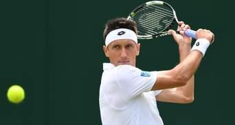 Сергей Стаховский в тяжелом матче удачно стартовал на Wimbledon