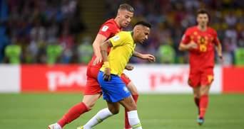 Бразилія – Бельгія: відео голів та моментів матчу Чемпіонату світу