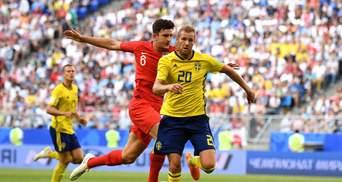 Англія – Швеція: відео голів та моментів матчу Чемпіонату світу 2018