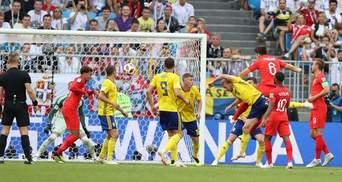 Англія перемогла Швецію та вийшла у півфінал Чемпіонату світу