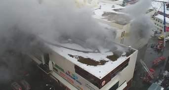 У Росії затримали пожежника, який перший прибув на місце пожежі у Кемерові