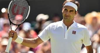 Федерер вышел в четвертьфинал Wimbledon