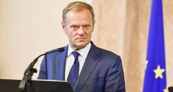 Туск объяснил, за что Евросоюз наказал Россию санкциями