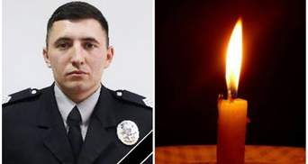 В Ровно умер молодой полицейский, которого жестоко ранили на службе