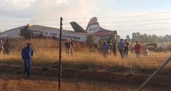 У ПАР розбився пасажирський авіалайнер: фото й відео