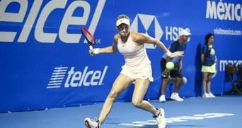 Украинка Ястремская пробилась в полуфинал турнира в Венгрии