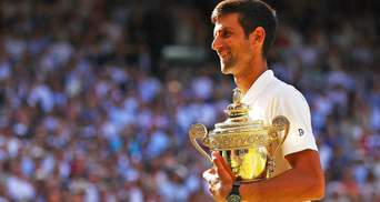 Новак Джокович в четвертый раз выиграл Wimbledon