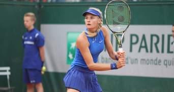 Украинка Ястремская впервые попала в топ-100 сильнейших теннисисток мира