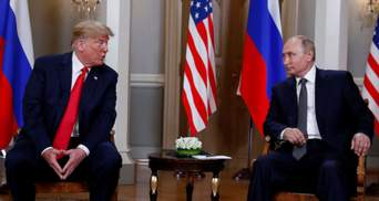 """Трамп обмовився про """"цікаву ідею"""" від Путіна щодо втручань Росії у вибори в США"""