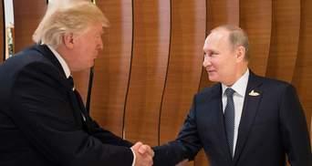 Трамп вважає приєднання Криму до Росії незаконним, – Путін