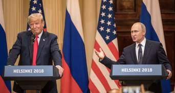 Перед прес-конференцією Трампа і Путіна з залу зі скандалом вивели чоловіка: відео