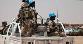 У Конго повстанці розстріляли табір миротворців, в якому перебували українці