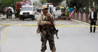 В Афганистане террорист-смертник убил трех членов миссии НАТО