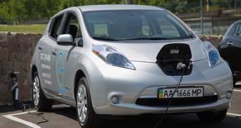Электромобили в Украине: названа десятка самых популярных