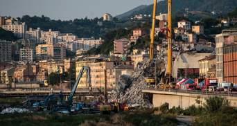 Обвал мосту у Генуї: озвучили остаточну кількість загиблих