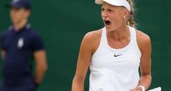 Украинская теннисистка сенсационно победила в финале квалификации турнира в США
