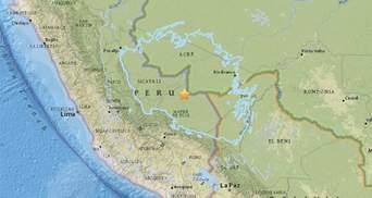 Сильное землетрясение в Южной Америке зацепило сразу три страны