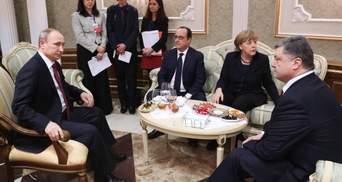 Порошенко с Путиным постоянно кричали друг на друга: Олланд описал, как заключали соглашения