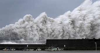Небезпечний тайфун в Японії: без світла залишаються понад 350 тисяч будинків