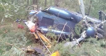 В Киеве разбился вертолет: есть пострадавшие