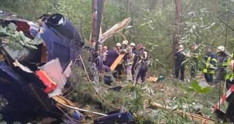 Авіакатастрофа на Трухановому острові у Києві: перші подробиці інциденту