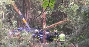 Авиакатастрофа на Трухановом острове в Киеве: вертолет принадлежал миллиардеру Косюку