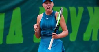 15-летняя украинка сенсационно вышла в полуфинал юниорского US Open