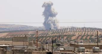 Літаки Росії та Асада завдали по Сирії найпотужніших авіаударів за місяць