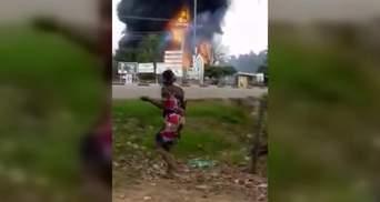 В Нигерии взорвался газовоз, много погибших, сотни раненых: жуткие фото, видео 18+