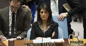 """США в ООН пригрозили Росії та Ірану """"вкрай серйозними наслідками"""" в разі наступу на Ідліб"""