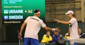 Сборная Украины досрочно победила Португалию на Кубке Дэвиса