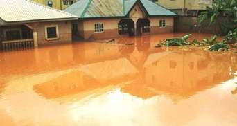 Внаслідок повеней у Нігерії загинули понад 100 людей