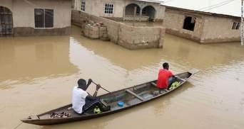 """Смертельные наводнения в Нигерии: в стране объявили """"национальную катастрофу"""""""