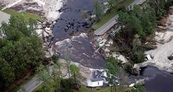 """Возросло количество жертв урагана """"Флоренс"""" в США: ужасные фото стихии"""