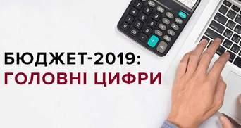 Бюджет-2019 в інфографіці: основні цифри
