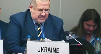 Чубаров в ОБСЕ обвинил Россию в нарушении всех принципов организации